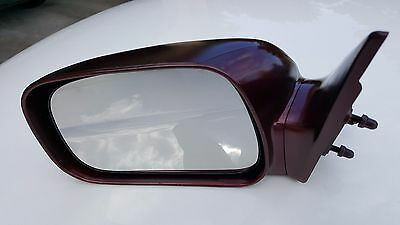 NEW WHITE Drivers Side Left Door Mirror 2002-2006 Camry USA NonHeated