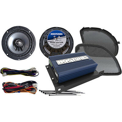 Hogtunes AMP and Speaker Kit For 2015-2017 Harley Road Glide - REV200RG KIT-RM