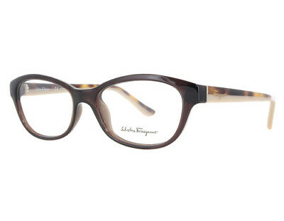 c9d383d4e200 NEW Salvatore Ferragamo SF2722 210 53mm Brown Optical Eyeglasses Frames