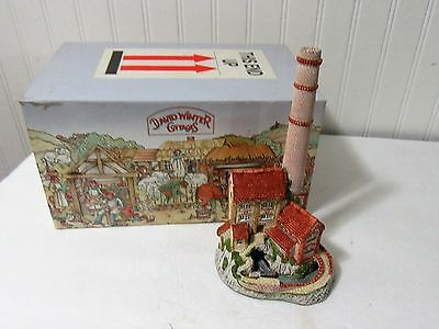 """NIB 1987 David Winter Cottages Midlands Collection """"Derbyshire Mill"""" COA Papers"""