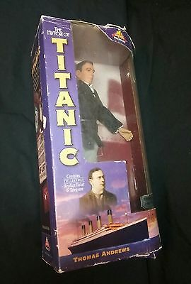 "The History of Titanic Thomas Andrews 9"" new figure Limited 1 of 5000 pieces NIB"