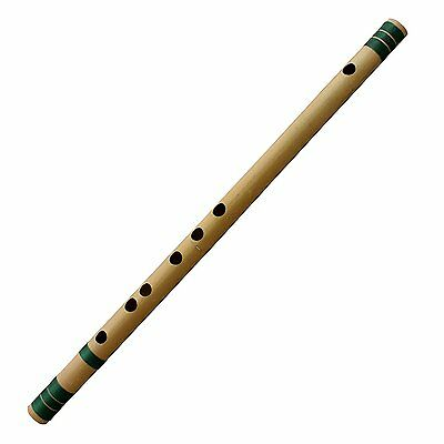 Professional Flute Bansuri Bamboo Woodwind Musical Musical Instrument 48 Cm