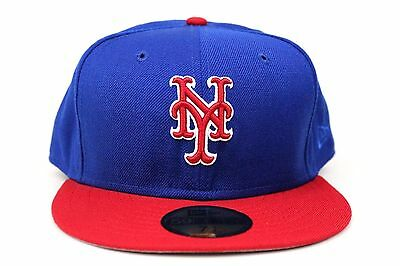 2fa6e45606a ... shop new york mets light royal blue scarlet red white mlb new era  59fifty fitted hat