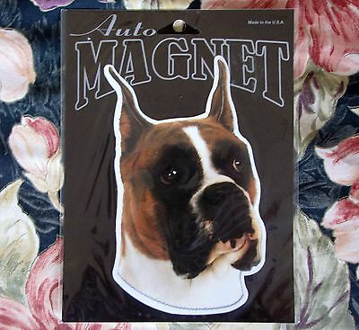 Boxer Dog Animal Decal Magnet New Sealed