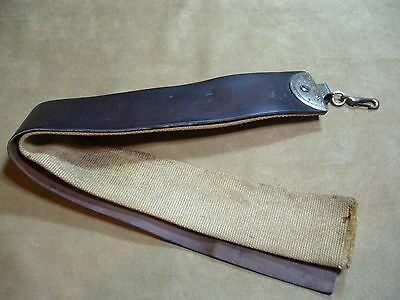 Straight Razor Leather Strop with Hanging Clip - Vintage Shaving