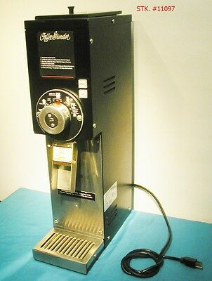 GRINDMASTER 875 COMMERCIAL COFFEE GRINDER MILL compare w/  Bunn G3 G2