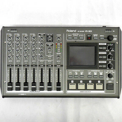 Roland VR3EX Mixer with USB port for Web Streaming and Recording Factory Refurb