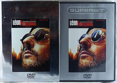 Leon the Professional (DVD, 2003, Superbit Edition) Jean Reno, Natalie Portman