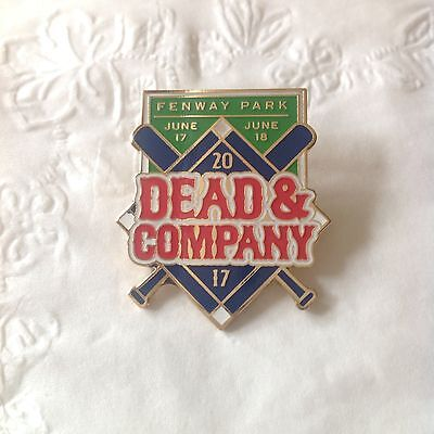 Dead and Company tour Pin Fenway Park Boston 2017 Sold Out!