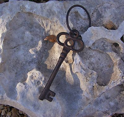 Skeleton Key Reproduction Cast Iron Antique Jailer Pirate Rustic Vintage   #114A