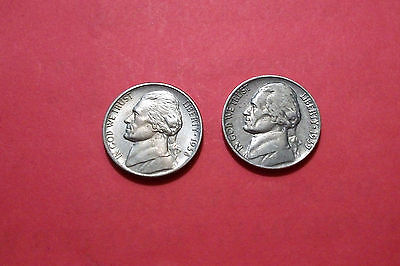 Jefferson Nickels, 1938 and 1939