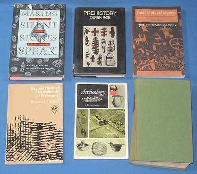Lot of 6 Books - In Search of the Primitive by Cotlow + 5 Archaeology Books