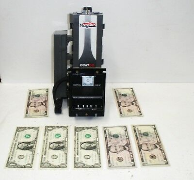 MagPro MAG30B Coinco Coin Acceptor Bill validator set 2008 $5 bill Upgrade NB