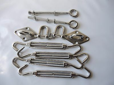 SSFK 2-8 mm marine grade stainless steel sail mounting kit. Ask about FREE POST