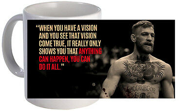 Conor Mcgregor Quote Mug. Brand New. Free Uk Delivery.
