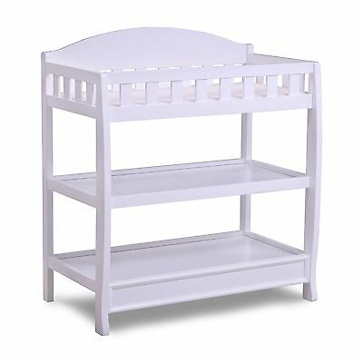 Delta Children Infant Changing Table with Pad White