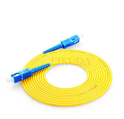 NEW Fiber Optic Single-Mode Simplex Patch Cable Cord Optical Fiber Cables