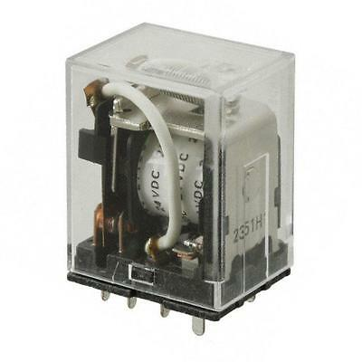 1 pc. LY2-0-DC24   LY2-0-24DC  OMRON  Relais  DPDT (2 Form C)  24VDC