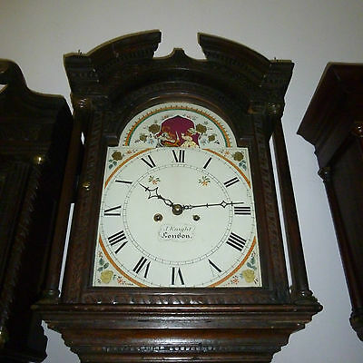 longcase  clock  8 day