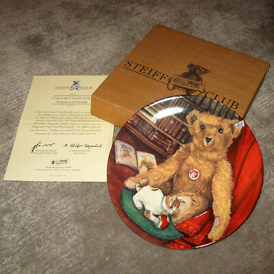 Steiff-Club · Teller · Sammelteller · 20th Century Collection 1996/97 mit Karton