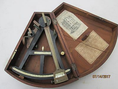 Octant Circa 1846 Signed Spencer Browning