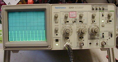 Tektronix 2201 analog / DSO scope