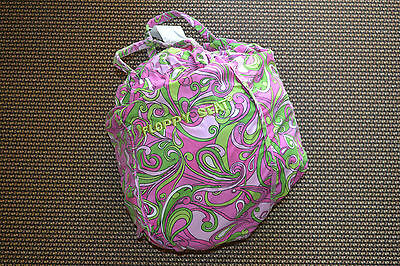FLOPPY SEAT - Shopping Cart Cover - PINK & GREEN PAISLEY PRINT_Great Condition!