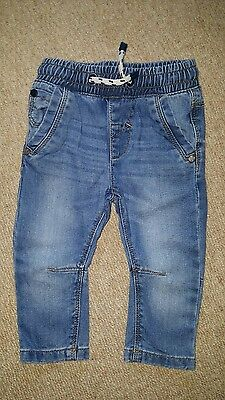 Baby Boys Next Trousers/jeans 6-9 Months