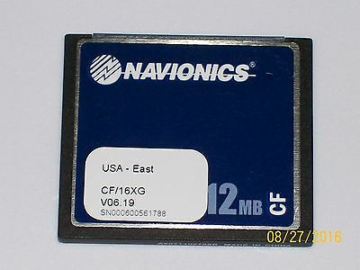 Raymarine / Navionics  Gold Chart Chip For U.s. East Cf/16Xg