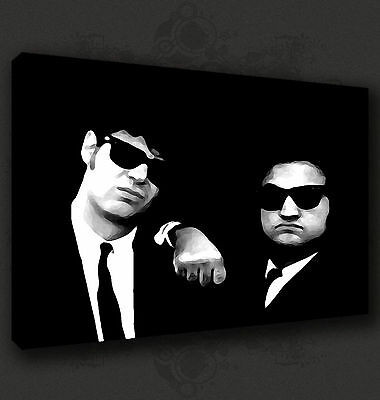 The Blues Brothers Iconic Film Wall Art Canvas Print Picture Ready To Hang