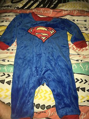 Baby Boys Superman Outfit 3-6 Months