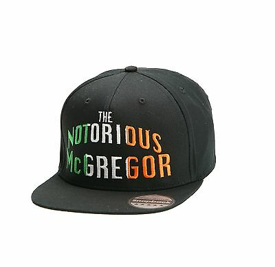 The Notorious Conor Mcgregor Snapback Pair Embroidered Rapper Caps Hip-Hop Hats