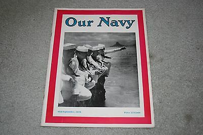 Our Navy Mid-September 1936