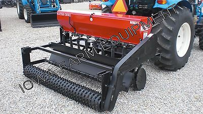 Food Plot Drill & Broadcast Seeder, Seed Drill: 5' Kasco Plotters Choice Combo!