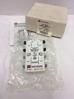 New in Box CUTLER HAMMER W22 Auxiliary Contact Kit -Style # 1A48174G07-