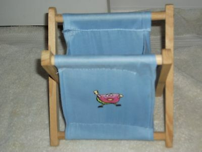 Toy Storage Baskets/Containers/Organizers ( 2), Canvas/Wood, Decorative, Fold-Up
