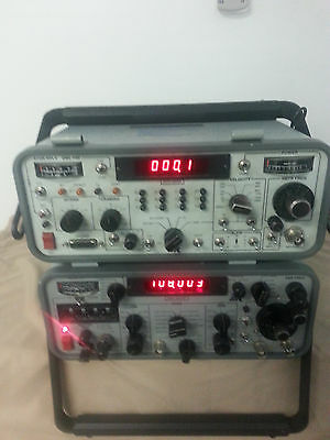 IFR NAV 402AP  nav and IFR 600A  transponder field test equipment