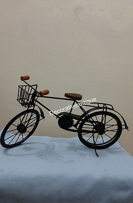 Wooden & Iron Cycle Toy Antique Home Decor Gift Item