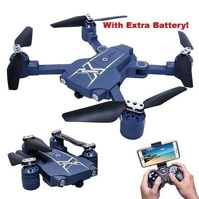 Extra Battery - HC629 Foldable Selfie Drone with Wifi FPV Wide angle Camera