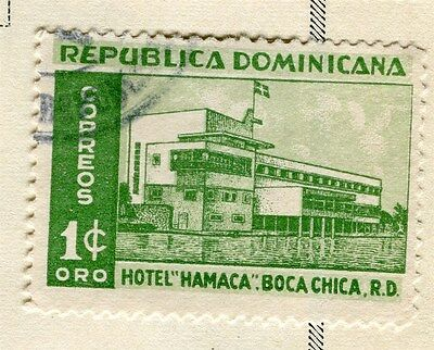 DOMINICA;  1950 early Hotel issue fine used 1c. value