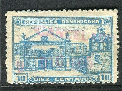 DOMINICA;   1931 early Cathedral issue fine used 10c. value