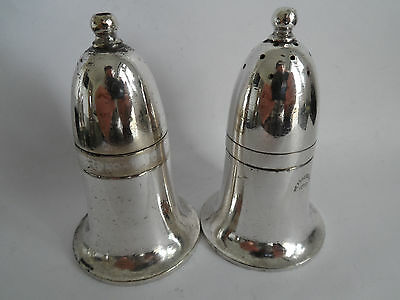 Silver Plate Hotel Ware Salt & Pepper Shakers By Mappin & Webb - Heatherbank
