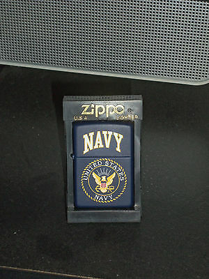 Vintage Military Navy Zippo Lighter, Us Navy