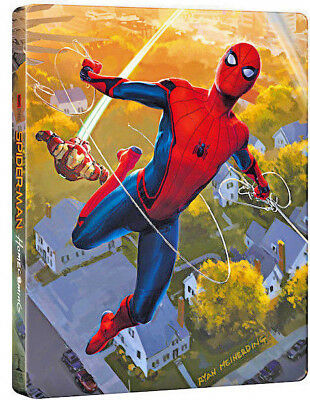 SPIDER-MAN: HOMECOMING - STEELBOOK EDITION (BLU-RAY) Tom Holland, Michael Keaton