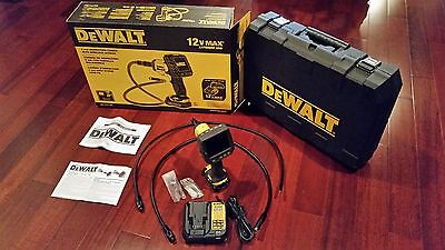 DEWALT DCT411S1 12V Max 9mm AND 17mm Inspection Camera Kit with Wireless Screen