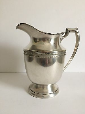 Gorgeous 1953 Silver Plated Empire Mfg.co. Water Pitcher