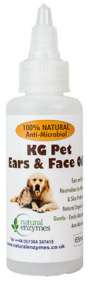 KG Pet Ear & Face Oil Will assist in the control of mites on the face,ears,paws