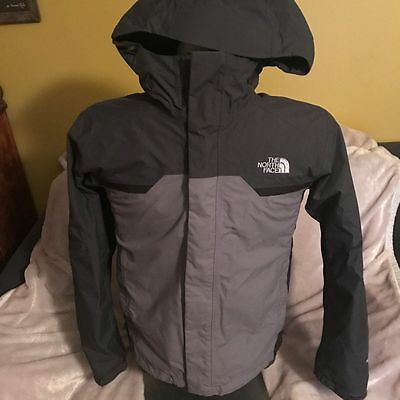 The North Face Mens Gray 3-in-1 Winter Jacket Coat Fleece S Small