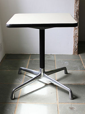Eames Herman Miller Aluminium Mid Century Modern Modernist Side Table