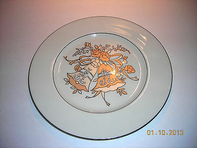 "GATEWAY CHINA BY SHENANGO Plate - ""Wedding Band"" - 10-1/2"""